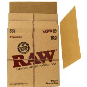 Raw parchment p[aper